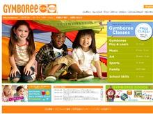 ジンボリー(Gymboree)ウェブサイト